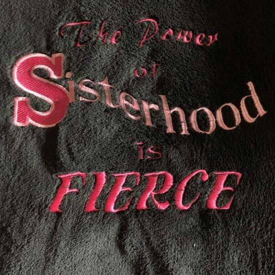 Power of Sisterhood Throw