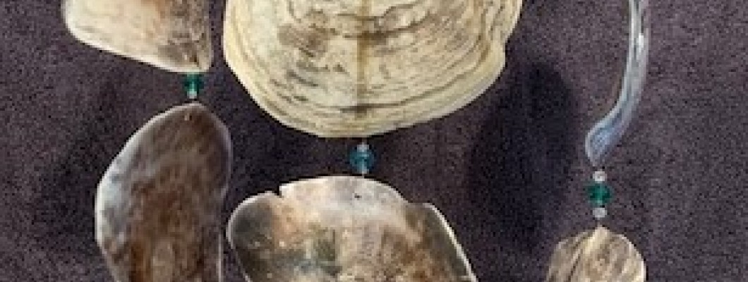 The sounds of our Placuna Oyster Shell Chimes!