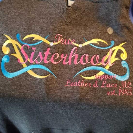 Blue & Grey True Sisterhood Hoodie