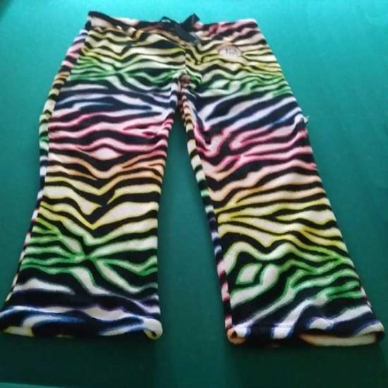 Wild Zebra Print PJ pants