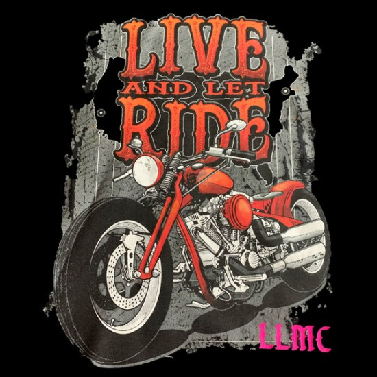 Live and Let Ride Tee