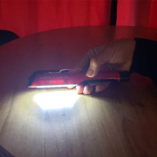 LLMC Safety First Flashlight