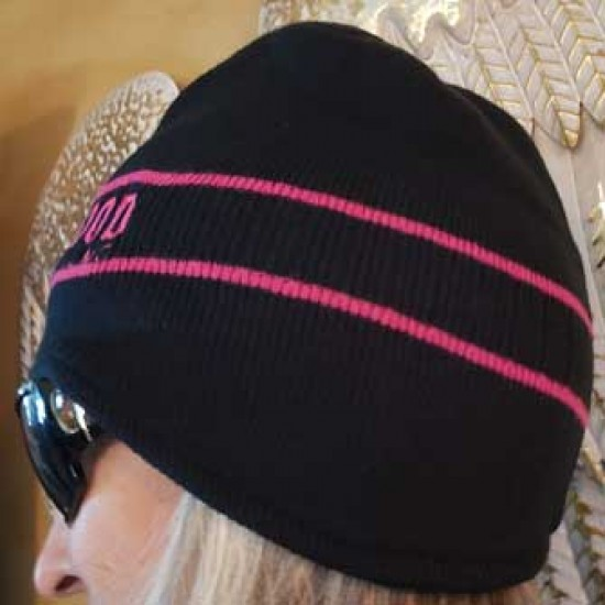 Striped Sisterhood Earwarmer Beanie